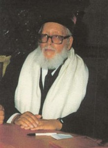 Rabbi Aharon Monsonego, Chief Rabbi of Morocco